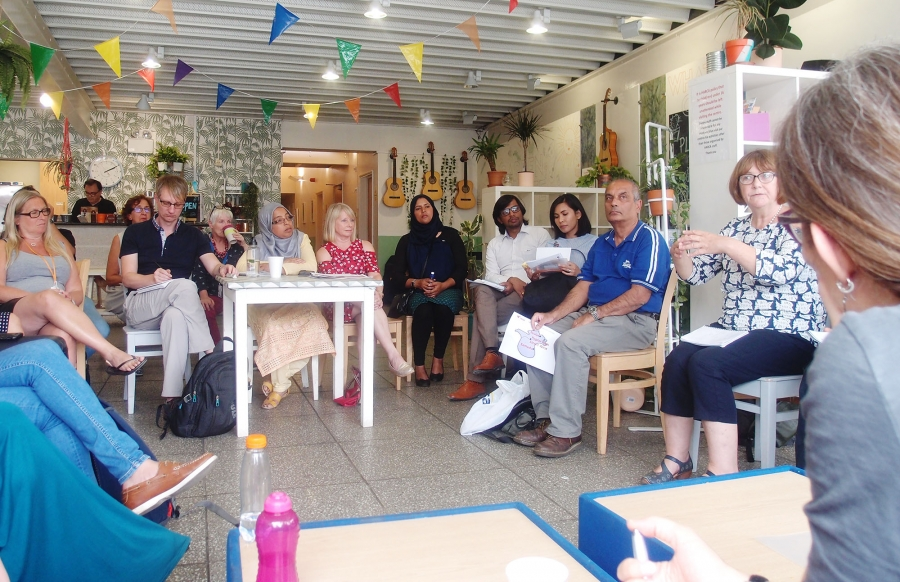 Le Microaree in viaggio e scambio con le Well Communities di Londra