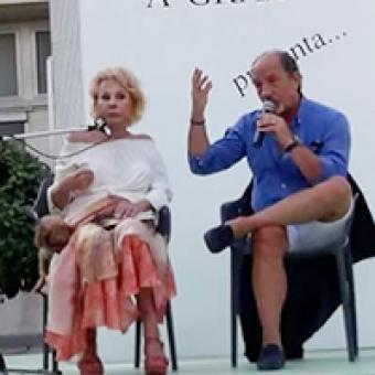 Ornella Vanoni attrice in Ballando con Cecilia