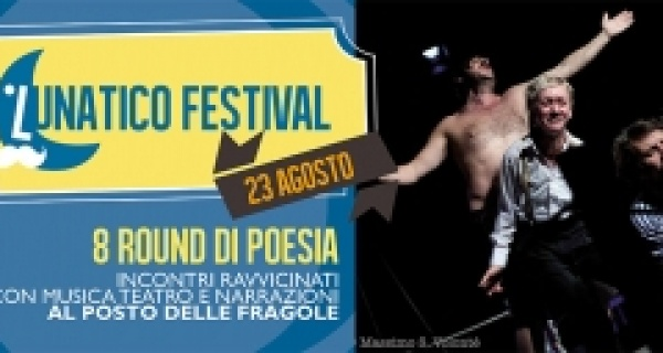 Martedì 23 agosto al Lunatico: 8 round di Poesia - Astorri contro Leonardi arbitra Tintinelli