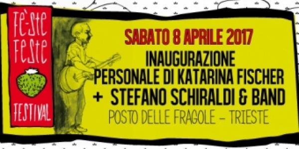 Fé Ste Feste Festival #7: Katarina Fischer + Stefano Schiraldi & Band