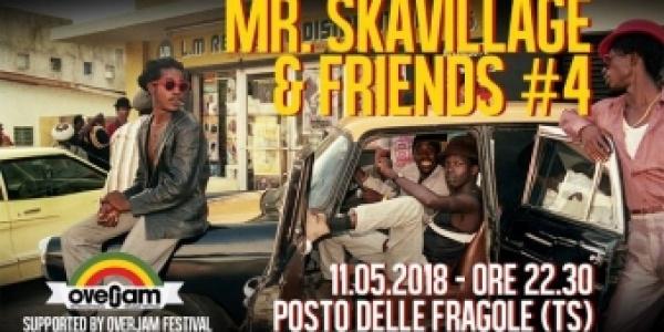 Mr. Skavillage & Friends a Il Posto delle Fragole