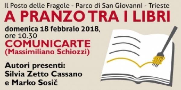 Domenica 18 febbraio Comunicarte ospite a A pranzo tra i libri