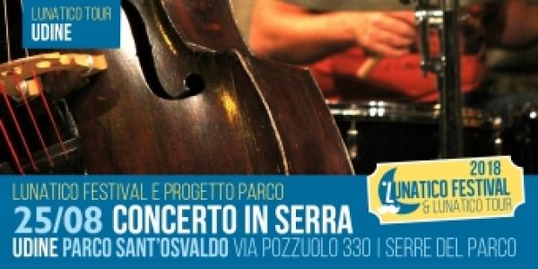 Lunatico Tour a Udine: Concerto in serra sabato 25 agosto