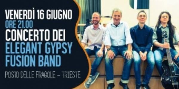 Elegant Gypsy - Fusion band in concerto a Il Posto delle Fragole