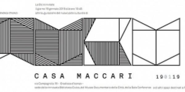 Inaugurazione del Polo Culturale di Casa Maccari a Gradisca