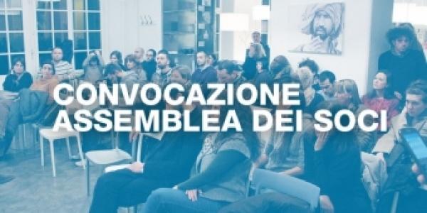 Convocazione assemblea dei soci 26 maggio 2017