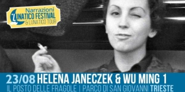 Giovedì 23 agosto sarà ospite al Lunatico il Premio Strega 2018 Helena Janeczek