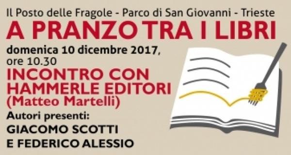 A PRANZO TRA I LIBRI. Domenica 10 dicembre 2017 alle 10.30 incontro con Hammerle editori