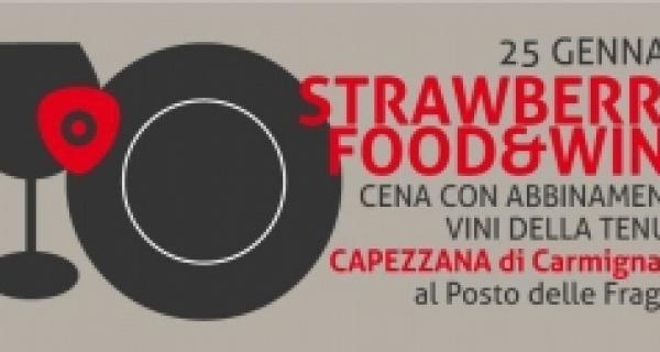 Strawberry Food &Wine: Tenuta Capezzana di Carmignano