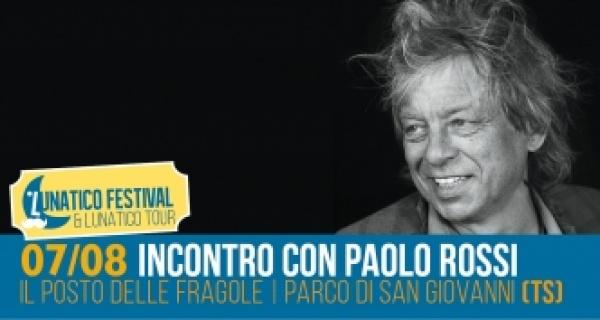 """Martedì 7 agosto incontro """"lunatico"""" con Paolo Rossi"""