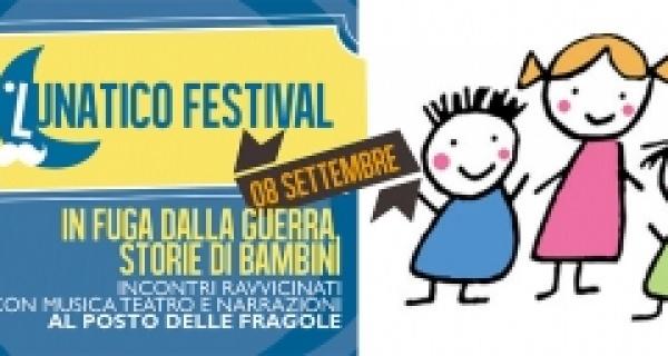 """""""In fuga dalla guerra, storie di bambini"""" 8 settembre, Lunatico Festival"""