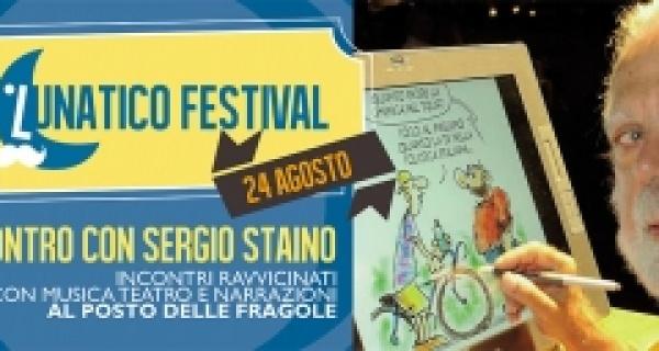 Mercoledì 24 agosto: incontro con Sergio Staino