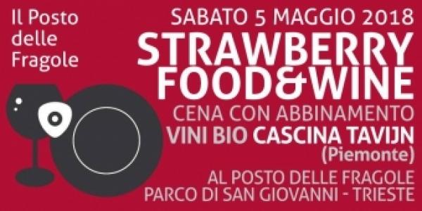 Cascina Tavijn di Scurzolengo in provincia di Asti protagonista di Strawberry Food and Wine