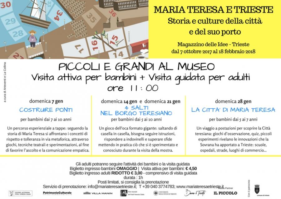 Lacollinaorg 4 Salti Nella Mostra Maria Teresa E Trieste