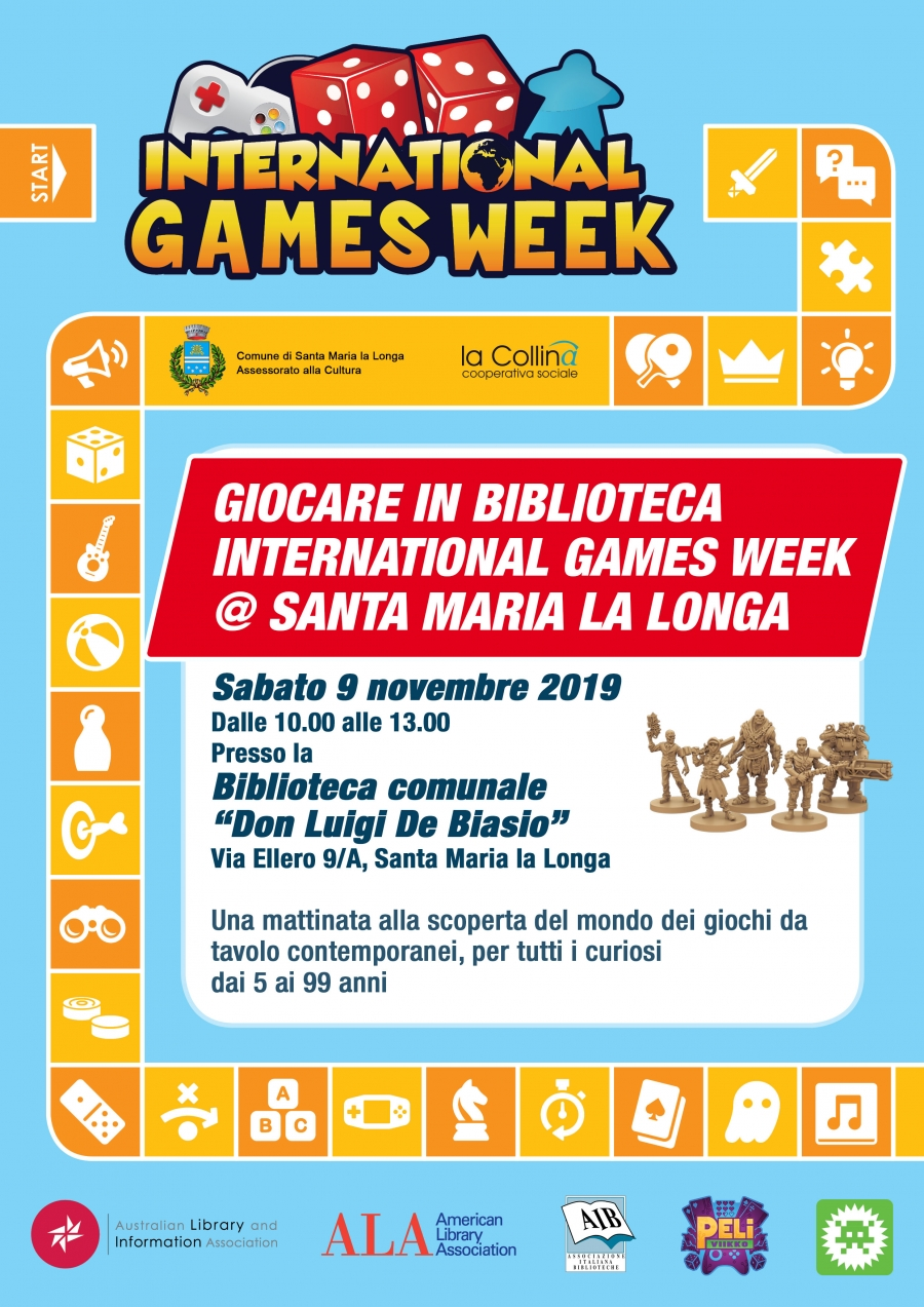 International games week a Santa Maria la Longa (Ud)