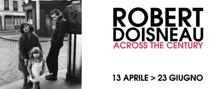 "Visite accompagnate gratuite ""Robert Doisneau, Across The century"""