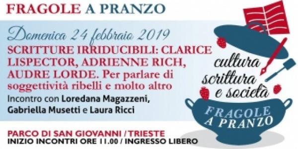 """Fragole a pranzo #8: """"Scritture Irriducibili"""""""