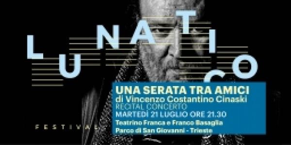 Martedì 21 luglio: Una serata tra amici - Vincenzo Costantino Cinaski