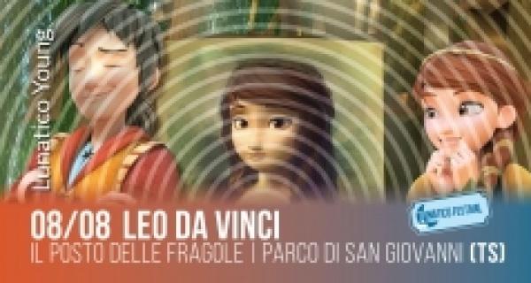 """Lunatico Young: cinema di animazione """"Leo da Vinci"""""""