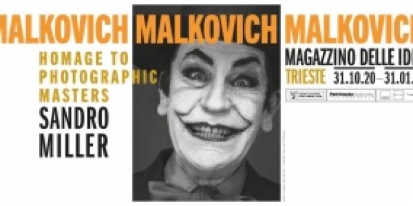 Sandro Miller Malkovich Malkovich Malkovich! Homage to Photographic Masters al Magazzino delle Idee