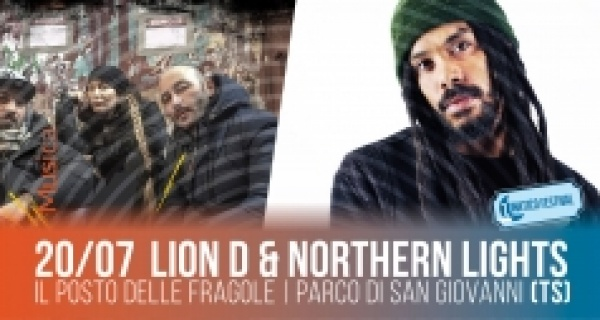 Sabato 20 luglio_Lion D+ Northern Lights al Lunatico Festival