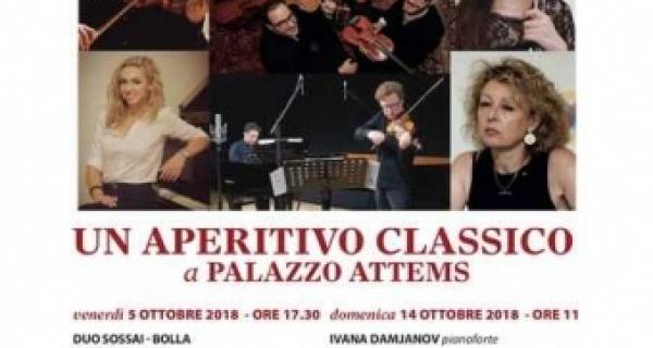 """A Gorizia concerti con ingresso gratuito """"Un aperitivo classico a Palazzo Attems. Emozione e razionalità"""""""