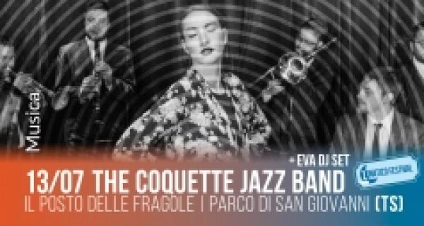 Sabato 13 luglio al Lunatico Festival  The coquette jazz band