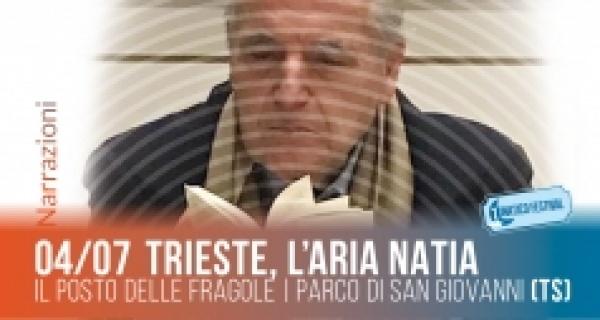 """""""Trieste l'aria natia"""" incontro con Claudio Grisancich al Lunatico Festival"""