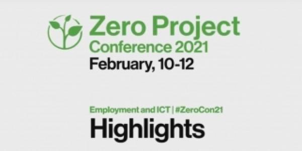 La Collina tra gli speakers della Zero Project International Online Conference 2021 (www.zeroproject.org)
