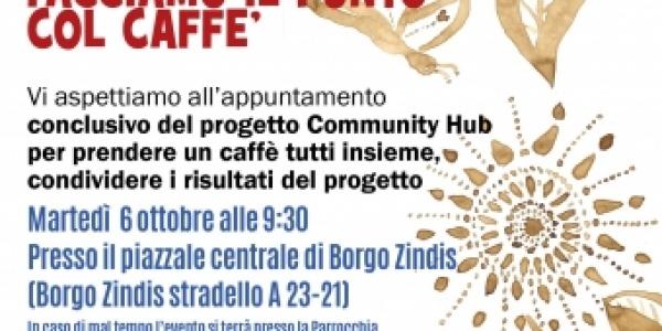 Facciamo il punto col caffè - evento finale Community Hub