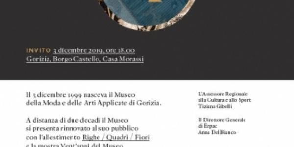 Vent'anni del Museo della Moda e delle Arti Applicate di Gorizia