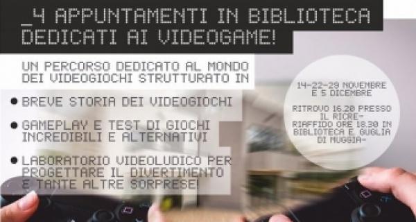 Biblio in Ludo: 4 appuntamenti in biblioteca dedicati al videogame!
