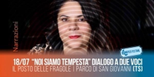 Giovedì 18 luglio Michela Murgia dialoga con Alessandro Metz al lunatico festival