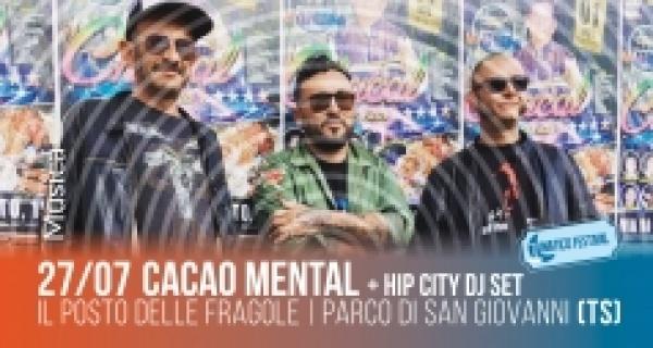 Sabato 27 luglio concerto dei Cacao Mental al Lunatico Festival